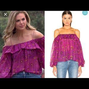 NWT Ulla Johnson Colin blouse size 2